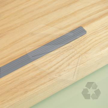 Antislip strip eco aluminium kleur